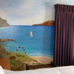 Guest Bedroom Mural by the Beach