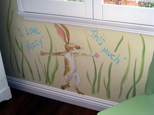 Childrens Mural (Rabbit)